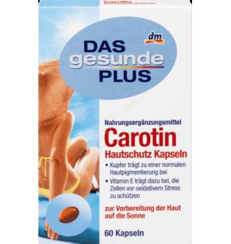 Купить Капсулы с растительными каротиноидами, витаминами и медью для кожи Mivolis - Das gesunde Plus Carotin, 60 шт - с доставкой по Украине