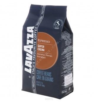 Купить Кофе в зернах Lavazza Super Crema (500г) - с доставкой по Украине