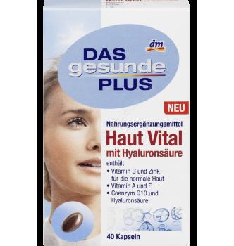 Купить Комплекс витаминов и минералов для кожи, волос и ногтей Mivolis - Das gesunde Plus Haut Vital 40табл. - с доставкой по Украине