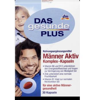 Купить Комплекс витаминов и минералов для мужчин Mivolis - Das Gesunde Plus 30таб - 4010355570192 - с доставкой по Украине