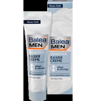 Купить Крем для бритья Sensitive, Balea MEN, 100 мл - с доставкой по Украине