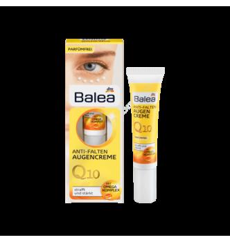 Купить Крем для кожи вокруг глаз Q10 против морщин Balea Anti FaltenAugencreme 15 мл - с доставкой по Украине