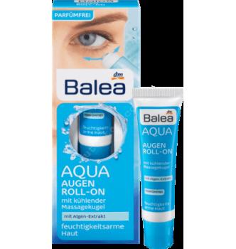 Купить Крем для кожи вокруг глаз с экстрактом морских водорослей Balea Augencreme Aqua Augen Roll-On 15 мл - с доставкой по Украине