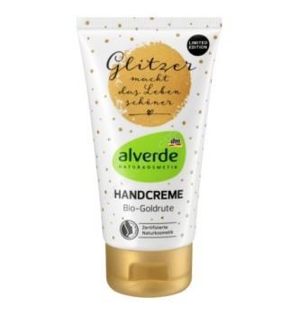 Купить Крем для рук натуральный экстракт золотарника Alverde NATURKOSMETIK Handcreme Bio-Goldrute, 75мл - с доставкой по Украине