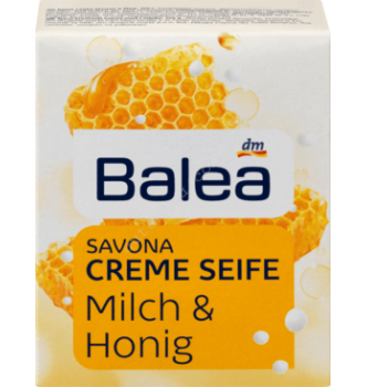 Купить Крем-мыло Мед с молоком Balea Creme Seife Milch & Honig (150г) - с доставкой по Украине