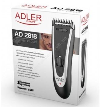 Купить Машинка для стрижки Adler AD 2818 + тример в ПОДАРОК - с доставкой по Украине