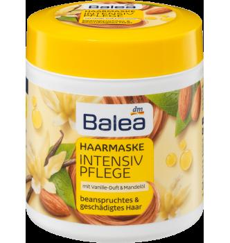 Купить Маска Глубокое питание для поврежденных волос с экстрактом миндаля Balea Haarmaske Vanille&Mandel - с доставкой по Украине