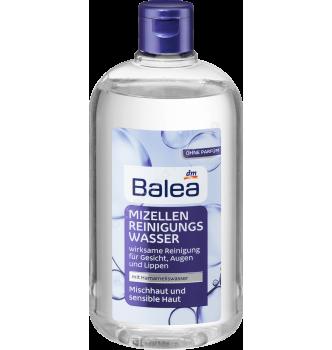 Купить Мицеллярная вода для комбинированной и чувствительной кожи Balea Mizellenwasser Mischhaut und sensible Haut, 400 мл - с доставкой по Украине