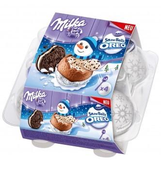 Купить Milka SnowBalls Oreo – очень вкусные шоколадные снежки Милка - с доставкой по Украине