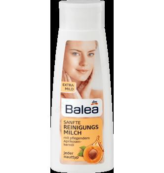 Купить Молочко для лица, очищающее, экстра - нежное, с маслом абрикосовых косточек, Balea Reinigungsmilch sanft, 200 мл - с доставкой по Украине