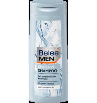 Купить Мужской шампунь для чувствительной кожи головы Balea Men Sensitive Shampoo 300 мл - с доставкой по Украине