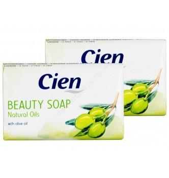 Купить Мыло туалетное оливка Cien Cremeseife Natural Oils (150г) - с доставкой по Украине