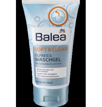 Купить Очищающий гель для проблемной кожи лица Balea Waschgel Soft & Clear ölfrei 150мл - с доставкой по Украине