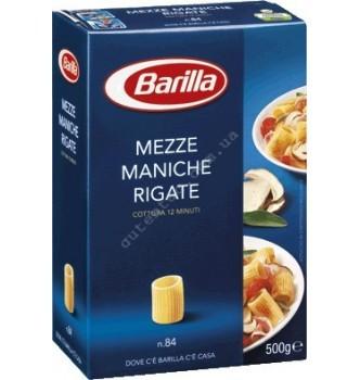 Купить Паста Barilla Mezze Maniche Rigate №84 (500г) - с доставкой по Украине