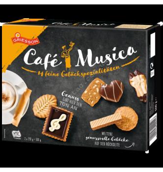 Купить Печенье Кафе Музыка (асорти из 14 видов) 500 г - с доставкой по Украине