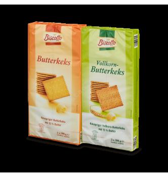Купить Печенье масляное писочное Biscotto Butterkeks, 400 г - с доставкой по Украине