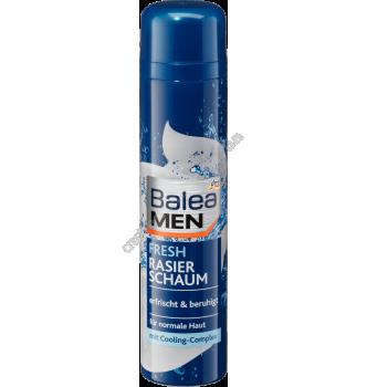 Купить Пена для бритья Свежесть и прохлада с экстрактом миндаля Balea Men Fresh Rasier Schaum 300 мл - с доставкой по Украине