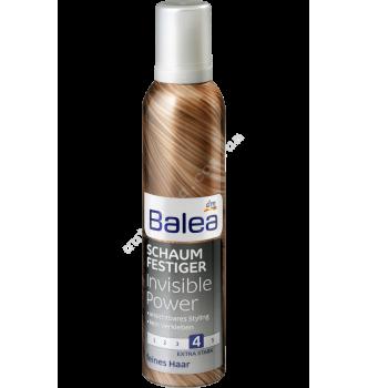 Купить Пенка для волос Невидимая сила, фиксация 4 - Balea Schaumfestiger Invisible Power 300мл - с доставкой по Украине