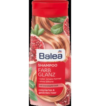 Купить Шампунь Яркость Цвета с экстрактом граната и ягод годжи для окрашенных волос Balea Farbglanz Shampoo 300мл - с доставкой по Украине