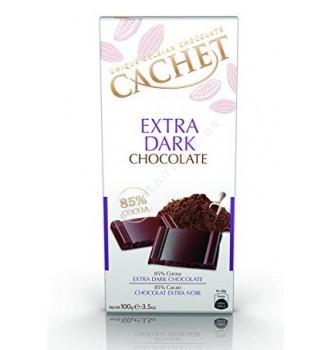 Купить Шоколад Cachet Extra Dark 85% (100г) - с доставкой по Украине