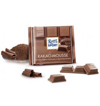 Купить Шоколад Ritter Sport какао-мусс (100г) - с доставкой по Украине