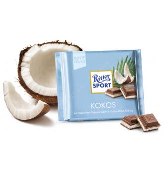 Купить Шоколад Ritter Sport какос (100г) - с доставкой по Украине