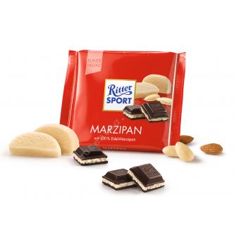 Купить Шоколад Ritter Sport марципан (100г) - с доставкой по Украине