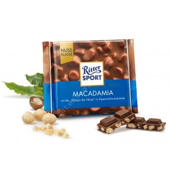 Купить Шоколад Ritter Sport с цельными орехами макадамия (100г) - с доставкой по Украине