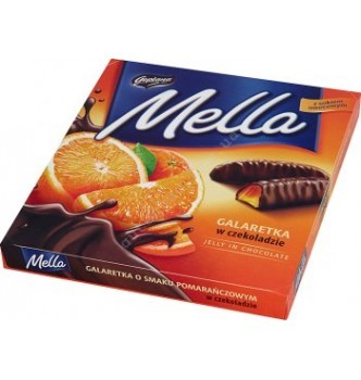 Купить Шоколадные конфеты Goplana Mella апельсин 190 г - с доставкой по Украине