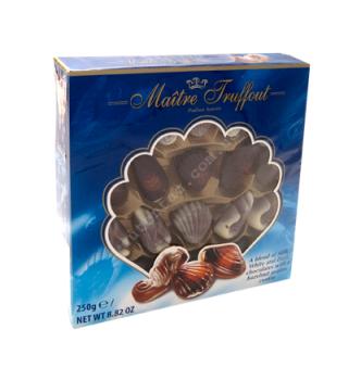 Купить Шоколадные конфеты в форме морских моллюсков 250г - с доставкой по Украине