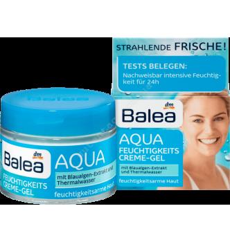 Купить Увлажняющий крем-гель для сухой кожи лица Balea Aqua feuchtigkeitscreme gel (50мл) - с доставкой по Украине