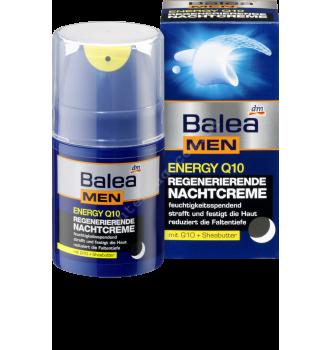 Купить Восстанавливающий ночной крем для лица Balea men Energy Q10, 50 мл - с доставкой по Украине