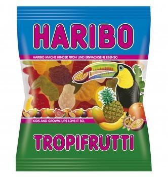Купить Жевательный мармелад Haribo TROPIFRUTTI (175г) (желейки харибо) - с доставкой по Украине