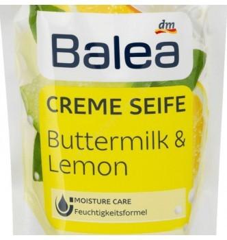 Купить Жидкое крем-мыло молоко с лимоном Balea Buttermilk&Lemon 500 мл (запаска) - с доставкой по Украине