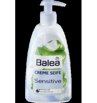 Купить Жидкое крем-мыло Нежность для чувствительной кожи Balea Creme Seife Sensitive (500мл) - с доставкой по Украине