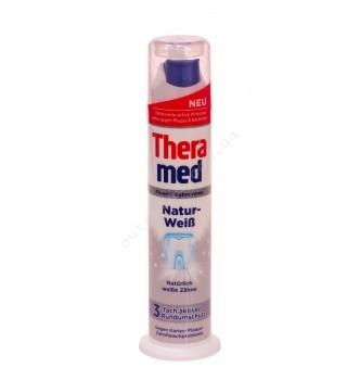 Купить Зубная паста Дозатор с отбеливающим эффектом Theramed Natur Weiss 100 мл. - с доставкой по Украине