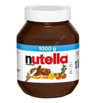 Купить Нутелла (Nutella) 1000г – орехово-шоколадная паста из Германии - с доставкой по Украине