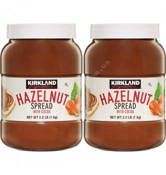 Купить Орехово-шоколадная паста Kirkland HAZELNUT spread (1кг) - с доставкой по Украине