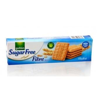 Купить Печенье без сахара Gullon Sugar Free Fibre biscuits 170г - с доставкой по Украине