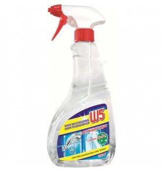 Купить Средство для мытья душевых кабин W5 daily shower cleaner 750мл - с доставкой по Украине