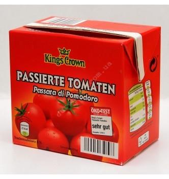 Купить Томатная паста King's Crown 500г - с доставкой по Украине