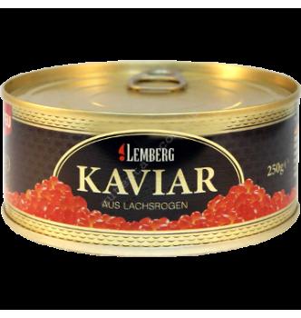 Купить Икра горбуши Золото Аляски Lemberg Kaviar Alaska Gold 250г. - с доставкой по Украине