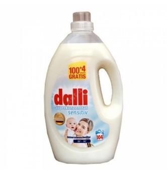 Купить Гель для стирки гипоаллергенный Dalli Sensitiv superkonzentrat, 3,65 л. (104 стирки) - с доставкой по Украине