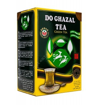 Купить Чай Акбар листовой зеленый Akbar Do Ghazal tea 500г - с доставкой по Украине
