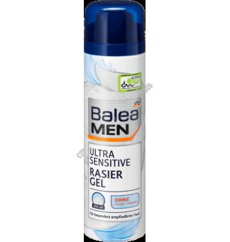 Купить Гель для бритья Нежное прикосновение для очень чувствительной кожи Balea Men Ultra Sensitive Gel 200 мл - с доставкой по Украине
