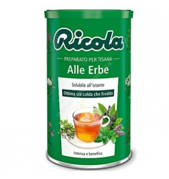 Купить Швейцарский натуральный травяной гранулированный чай Ricola «Alle Erbe» 200г - с доставкой по Украине