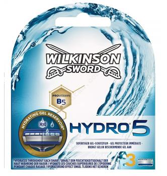 Купить Сменные кассеты (картриджи) для бритья Wilkinson Sword HYDRO 5 - с доставкой по Украине