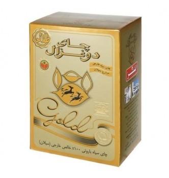 Купить Чай Akbar Do Ghazal tea GOLD листовой цейлонский черный чистый 500г - с доставкой по Украине