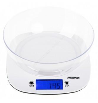 Купить Кухонные весы с чашей Mesko MS 3165 - с доставкой по Украине