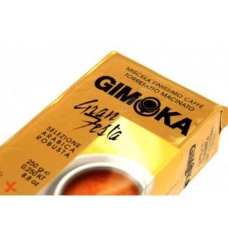 Купить Молотый итальянский кофе GIMOKA Gran Festa 250гр - с доставкой по Украине